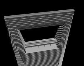 Shanghai World Financial Center Tower 3D model