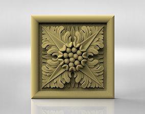 decoration 3D model Rosette