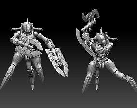 3D printable model Kankrum Space Zombie Robot
