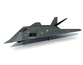 3D model Stealth Fighter