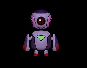 Mini Robot High Poly 3D model