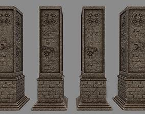 3D model pillar 8