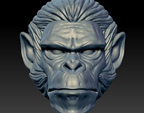 head monkey Zodiac 3D print model
