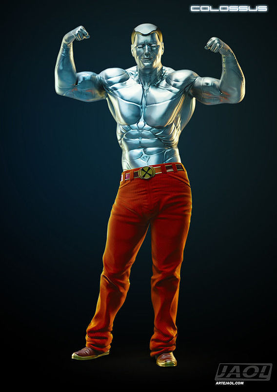 Colossus of Marvel