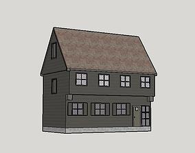 paul revere house 3D model