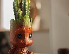 3D print model Baby Groot Flower Pot and Pen Holder