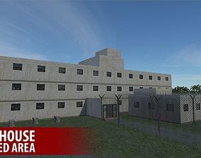 Prison house - restricted area 3D asset