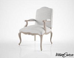 William Switzer French Regency chair 3D