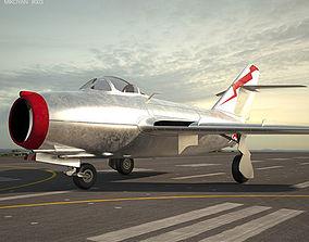 3D model Mikoyan-Gurevich MiG-15