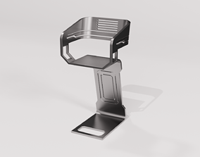 SCI-FI LAB CHAIR 3D