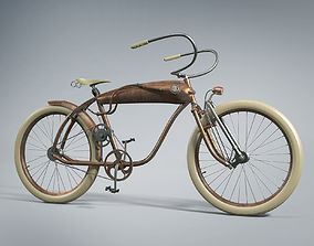 Bicycle Steampunk 3D