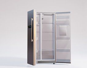 3D double door fridge home appliance