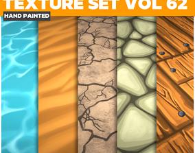 3D model Terrain Vol 62 - Game PBR Textures