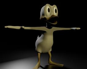 Disney duck 3D model
