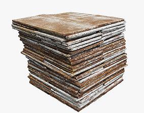 3D asset Iron Plate