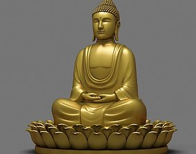Buddha Statue china 3D model