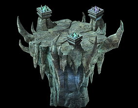 Game Model - Lianqi Cave 10 altar 3D