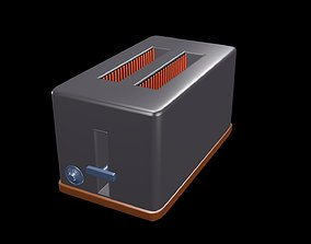 Toaster 3D model kitchen