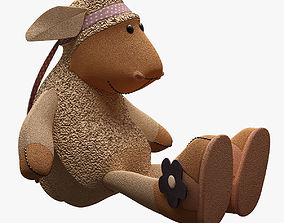 cheap Toy Sheep Nici 1 RIGGED 3D model