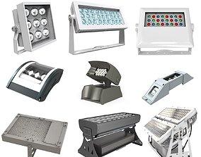 3D Outdoor industrial Lighting Module pack