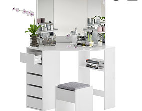 Makeup Dressing Corner Table 3D