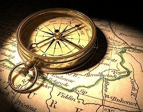 3D PBR Compass