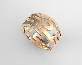 pattern ring 3D printable model