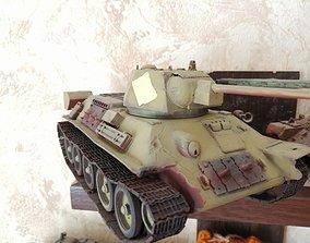 3D printable model T 34-76 Tanks