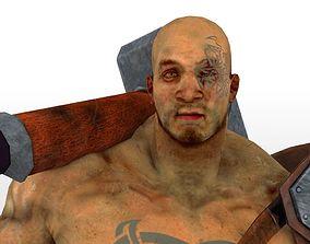 3D model Fantasy Warrior Man