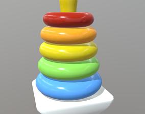 Toy Pyramid 3D model