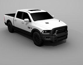 3D model Dodge Ram 2500 2017