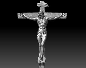 jesus christ crucifixion 3D printable model