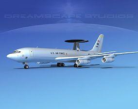 Boeing E-3B Sentry USAF 1 3D