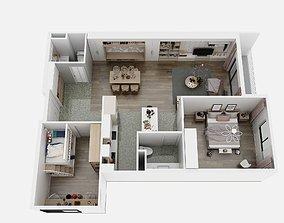 Apartment F3 3D