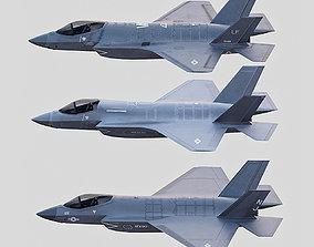 3D model F35A F35B C35C