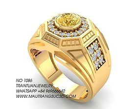 3D printable model 1086 Luxury Korea Men Ring