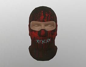 3D asset VR / AR ready Bloody Balaclava Redux