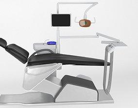 3D model dental chair unit