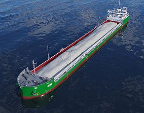 Combined platform tanker Ship 140m 3D