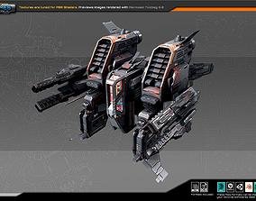 3D asset SF Bomber RK9