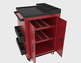 Workshop Service Trolley 3 3D