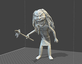 3D printable model ZUNI WARRIOR STATUINE from TRILOGY OF