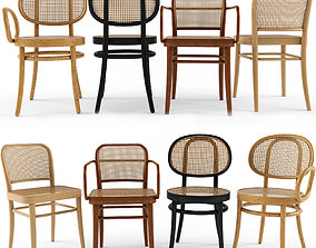 4 Chair FRONT Josef Hoffamnn 3D model