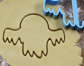 3D print model Ghost 2 cookie cutter for