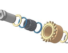 3D model Sprocket bearing