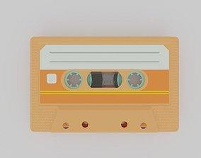 Compact cassette PBR 004 3D model