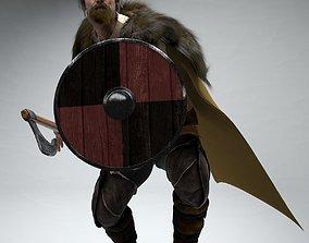 Viking Ragnar Rigged 3D model