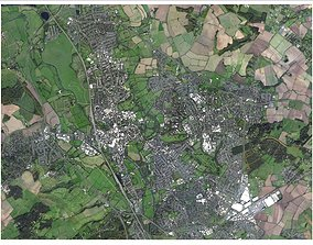 3D model Cityscape Oxford England