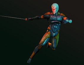3D model Gray Fox - Metal Gear Solid