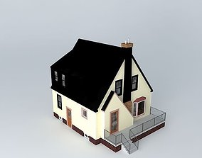 old 3D Small House